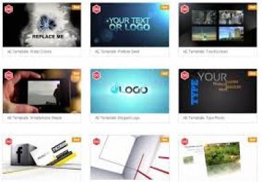 انشاء مفدمة فيديو احترافية او فيديو تعريفي بقناتك