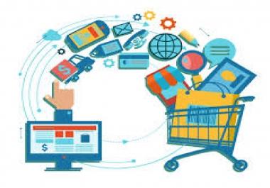 إدارة متجر بيع إلكتروني