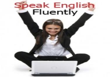 جعلك تتحدث الانجليزية بطلاقة في فترة وجيزة