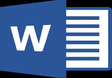 الكتابة بالعربية على برنامج وورد