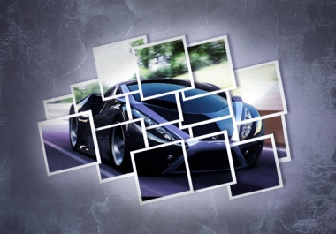 إنشاء تأثيرات ملصقة باستخدام الفوتوشوب