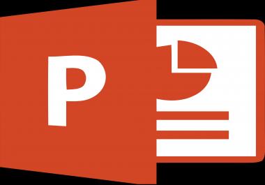 تصميم عرض تقديمي   powerpoint