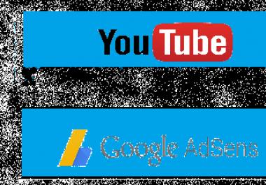 فتح قناة في اليوتوب  حساب google adsens لربح المال من القناة
