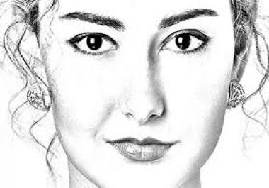 تحويل صورتك الى رسم