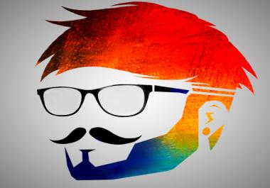 انشاء مقدمة فيديو باسم موقعك او باسمك او بشعارك logo