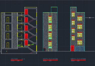 برسم تصميم هندسي معماري بالأوتوكاد