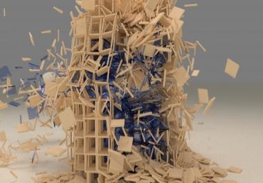 تصميم و صنع مقدمة ثلاثية الأبعاد رهيبة كيف ما تريد لشريكتك أو مشاريعك