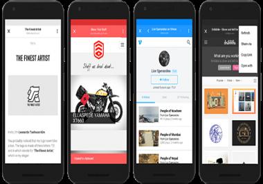 تحويل موقعك او مدونتك الي تطبيق اندرويد سريع وقوي في يوم واحد مع  - هدية - رفع التطبيق علي جوجل بلاي مجانا