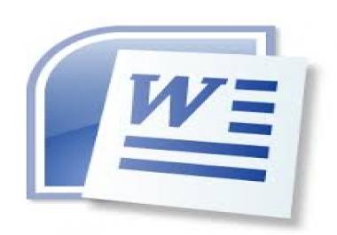 تحويل 35 صفحة مكتوبة بخط اليد الى نص wordجاهز للطباعة بحجم خط مناسب و تنسيق النص بمظهر جميل وأحترافي