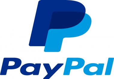 انشاء بايبال به 1$ و مفعل ببطاقة visa و mastercard ب 5$ فقط
