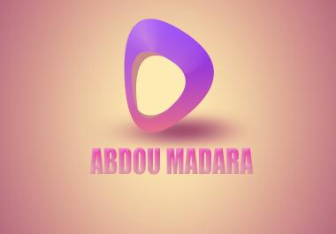 أصمم لك شعار احترافي لقناتك 3D