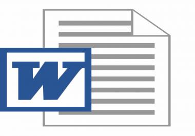 تحويل 20 صفحة مكتوبة الي نص word عالكمبيوتر ويصبح جاهز للطباعه ومنسق