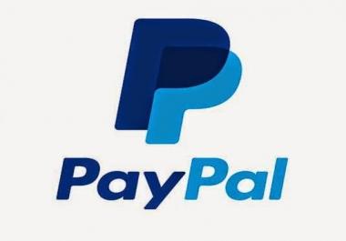 عمل باي بال مفعل و كامل لاستقبال و استلام الاموال و الشراء عبر الانترنت