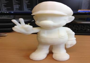 تصميم و اصلاح مجسمات للطباعة ثري دي 3d print ثلاثية الابعاد