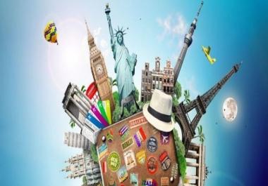 إعطائك نصائح لزيارة أماكن و فنادق حول العالم