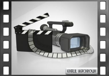 اصنع لك مقدمه فيديو احترافيه باسمك واسم موقعك ب 5 دولار فقط