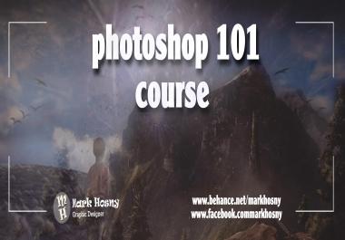 اعطائك كورس  10 حصص  لتعلم و احتراف برنامج الفوتوشوب و كذلك حصولك عل شهاده اتمام الكورس