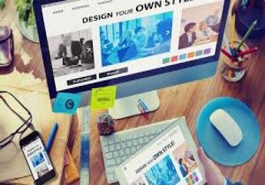 اقوم بتصميم موقعك فقط باحترافيه