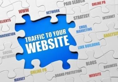 جلب 25 ألف زائر حقيقي أجنبي لموقعك أو مدونتك خلال وقت قياسي وبسعر منخفض