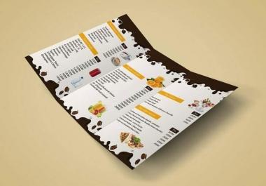 تصميم قائمة الطالبات خاص بمطعمك او مقهك