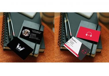 تصميم بطاقة اعمال business card
