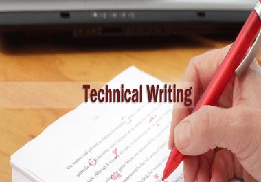 كتابة اى نوع من التقارير  technical reports     ادخال اى كمية من البيانات