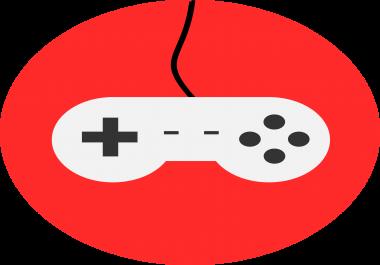 صنع لعبة من فكرة لك حيث حجم العبة اقل 500 MB