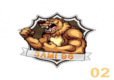 تصميم لوغو احترافي بدقة عالية  شعار Logo