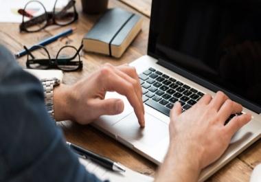 كتابة مقالات حصرية لمدونتك بالعربية و الانجليزية و الفرنسية مقابل 5$