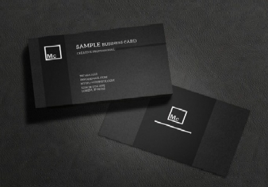 عمل تصميمات على بطاقات Business او ما شابه