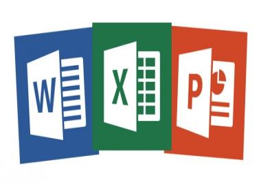 تحويل أي ملف  صورة ـ أوديو mp3 ـ مكتوب ـ pdf  إلى ملف Word أو Excel أو Powerpoint والعكس