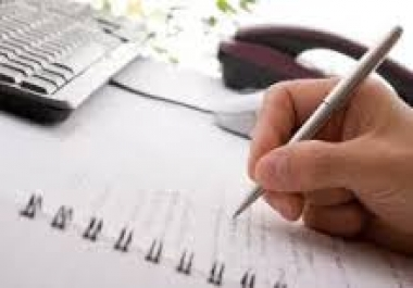 المراجعة اللغوية لعدد 1200 كلمة باللغة العربية  أو كتابتها على الحاسب .