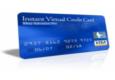 أحصل على فيزا إفتراضية صالحة لكل شيء مقابل 10$