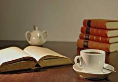 تلخيص المحاضرات والمقالات والكتب وغيرها