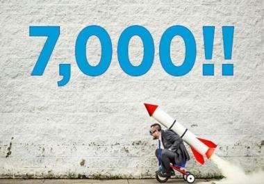 7000 متابع على تويتر او فيسبوك متفاعلين اجانب وعرب