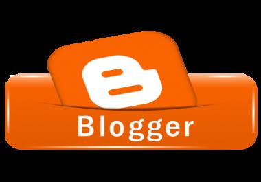 اشاء مدونة بلوجر باحترافية كما تريد