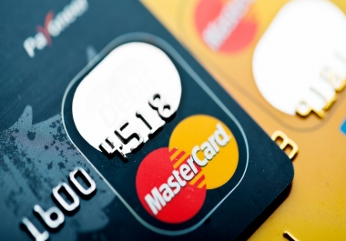 احصل على بطاقة ماستر كارد Master Card جاهزة لتفعيل الباي بال فقط ب 5 $ ......