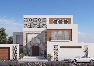 أصمم لك تصميمات معماريه و ديكورات خارجيه و داخليه