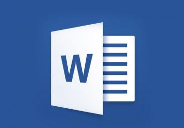 ترتيب وتنسيق الفقرات والمقالات والنصوص على word