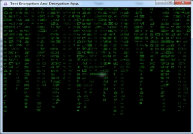 تقديم تطبيق بسيط ورائع لتشفير وفك تشفير البيانات وبواسطة كلمة مفتاحية تختارها انت