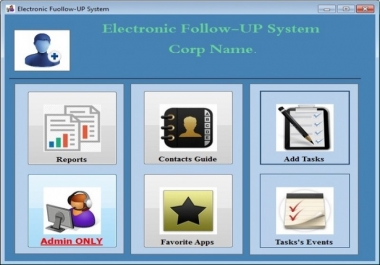سأقوم بتقديم نظام المتابعة الالكتروني Follow up System