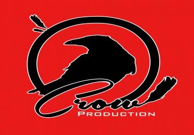 تصميم شعار احترافي مع روابط مواقعك للتواصل الاجتماعي