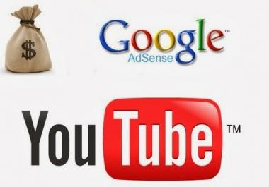 انشاء قناه يوتيوب لك وربطها بحساب جوجل ادسنس باسمك وعنوانك