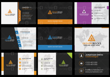 تصميم بطاقة عمل أو بطاقة شخصية ..Business card