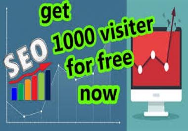 جلب 10000 زائر علي الجودة الي موقعك العرض لمدة محدوده