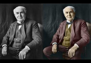 تحويل الصور القديمة من أبيض وأسود إلى صور ملونة والعكس