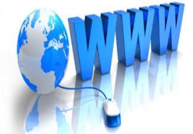 تصميم كل انواع المواقع الاحترافيه مقابل 5$ لكل موقع
