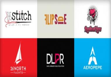 سوف أصمم لك شعار احترافي كشعارات الشركات العالمية