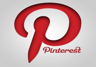 اضافة 1000 متابع اولايك في حسابك علي Pinterest مقابل 10$ فقط