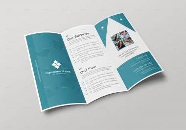 تصميم بروشور احترافى و جذاب لموقعك الالكترونى او مشروعك او عملك او شركتك